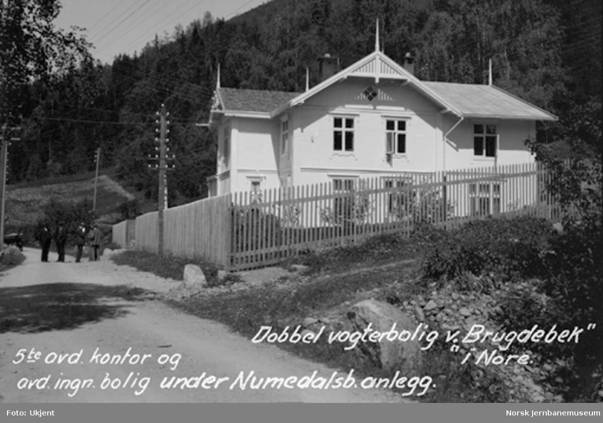 Brugdebekk, avdelingskontor for anleggets 5. avdeling