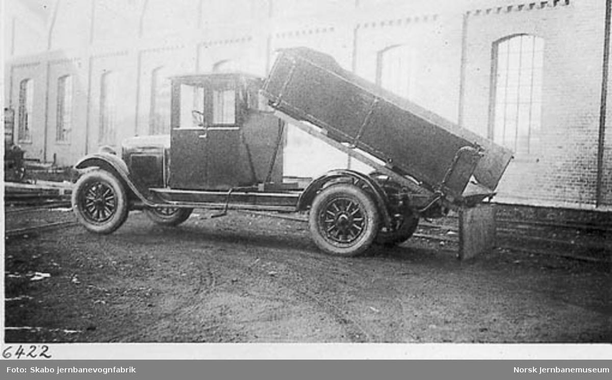 Chevrolet lastebil til C. E. Sontum & Co.