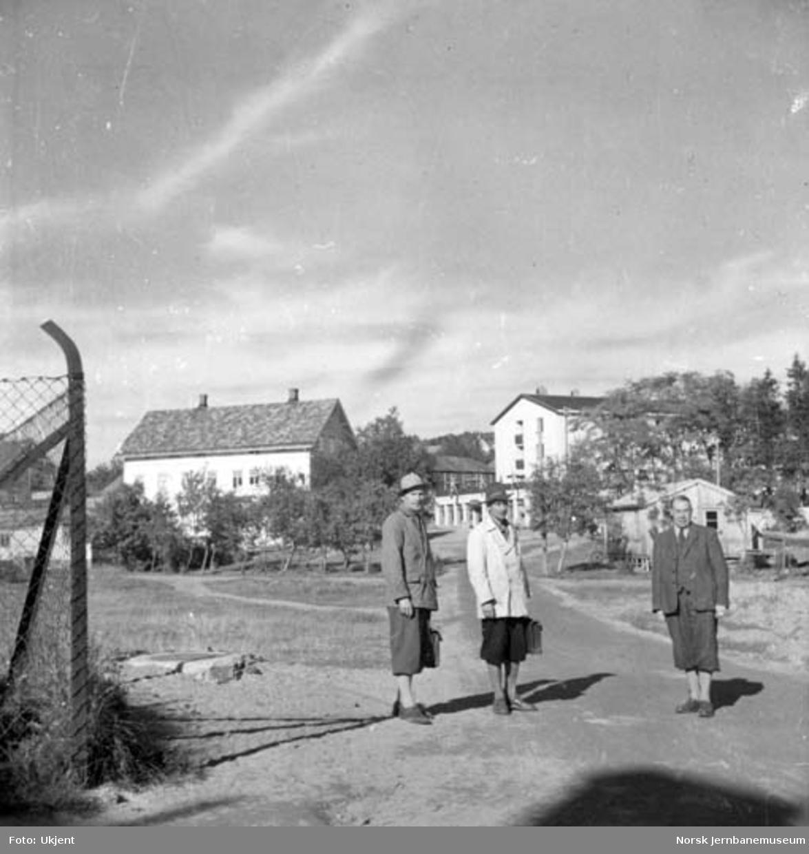 Befaring på Nordlandsbanen; ved Moholmen planovergang i Mo i Rana