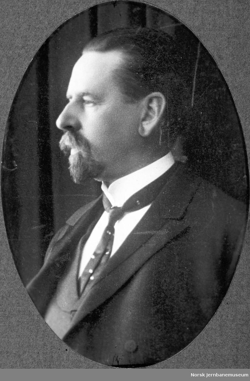 Portrett av disponent H. F. Henschien, LKAB 1903-1909