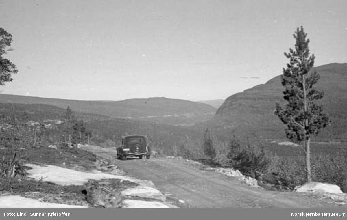 Nordlandsbaneanlegget : transportveg ved Vargholle tunnel
