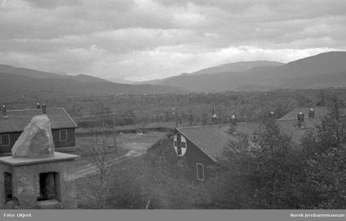 Nordlandsbaneanlegget : tysk krigslasarett på Klungset ved Fauske