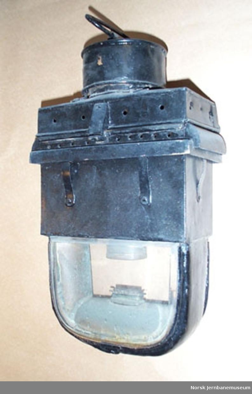Kupélampe : fetoljelampe, rektangulær type - for personvogn