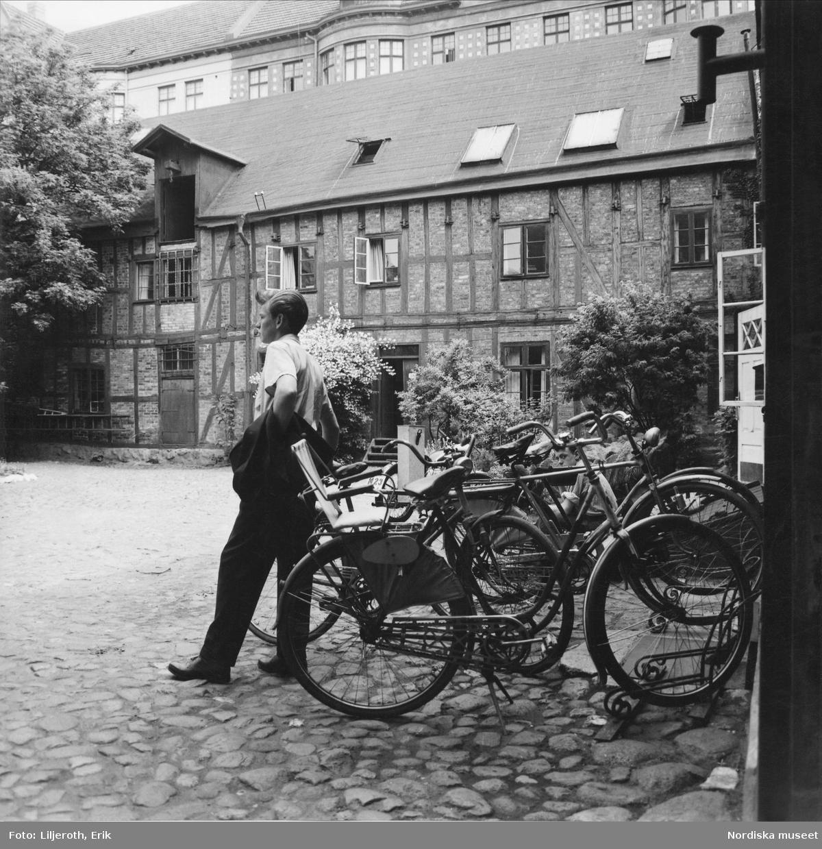 Bagerska fastigheten tvärs över Östergatan, Malmö.