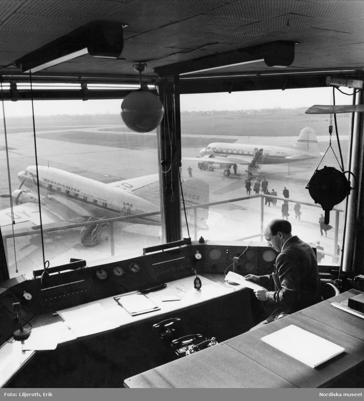 Flygledartornet på Bulltofta flygplats