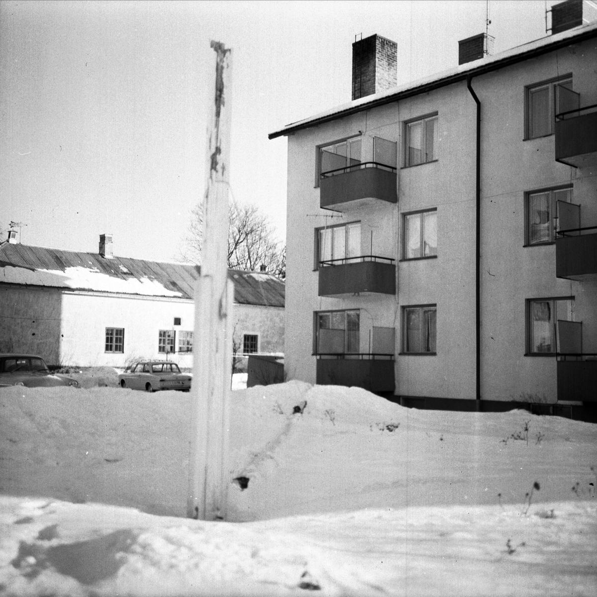 """""""Flaggstång av i Tierp"""", Uppland 1967"""