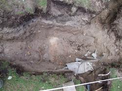 Arkeologisk schaktningsövervakning, Domkyrkoplan, Uppsala 20