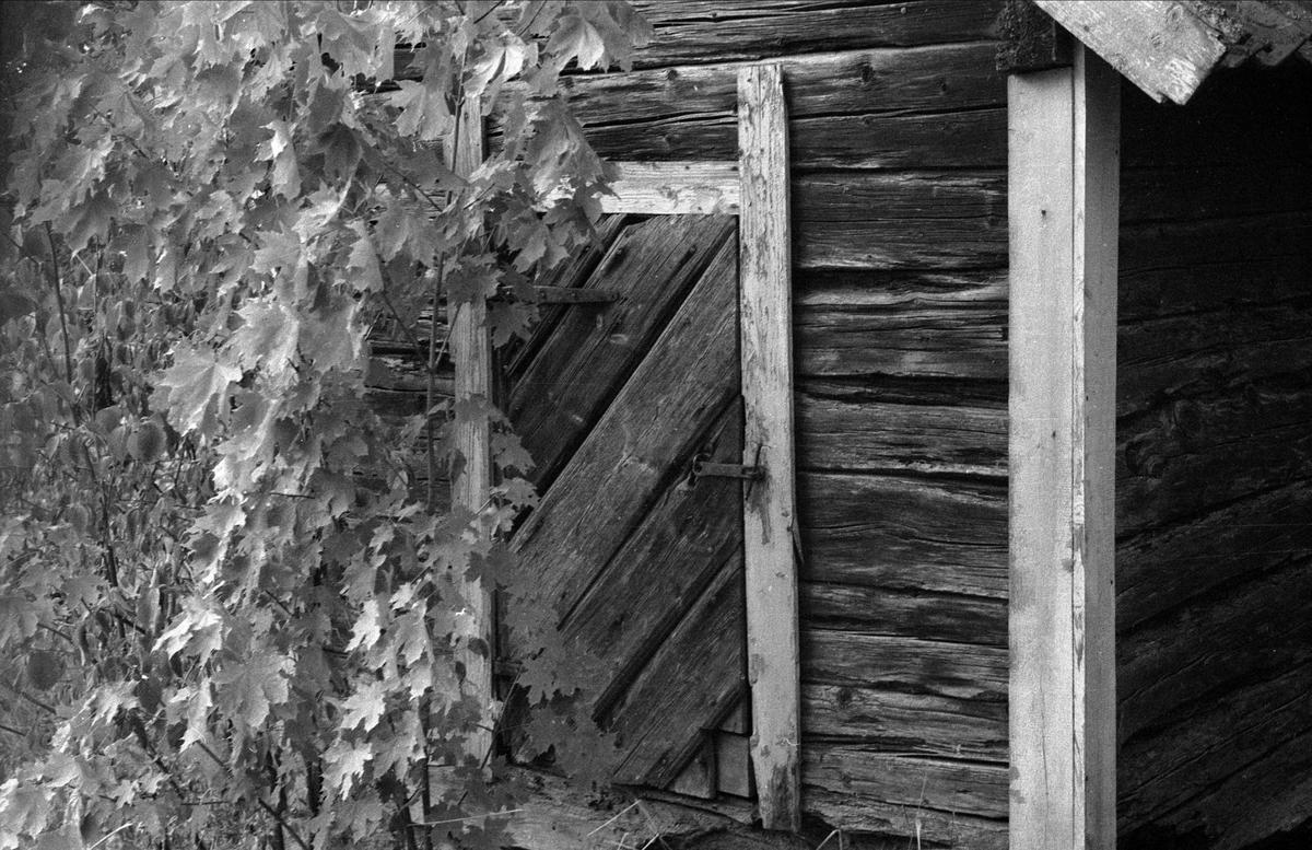 Rusthållarbod, Kolje 1:1 - 3:1, Ärentuna socken, Uppland 1976