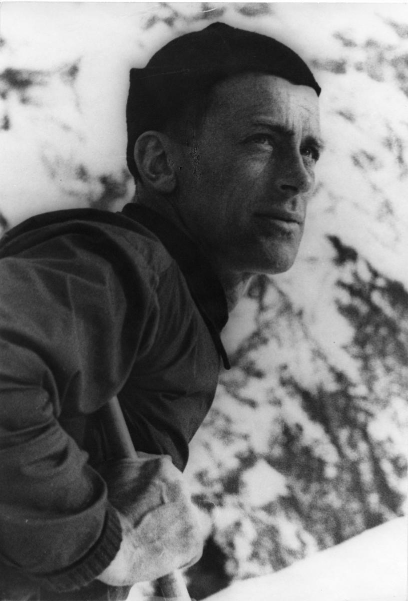 Alf Konningen fra Kongsberg. KIF-skier Alf Konningen