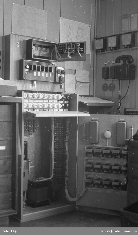 Teknisk utstyr på Dalselv stasjon