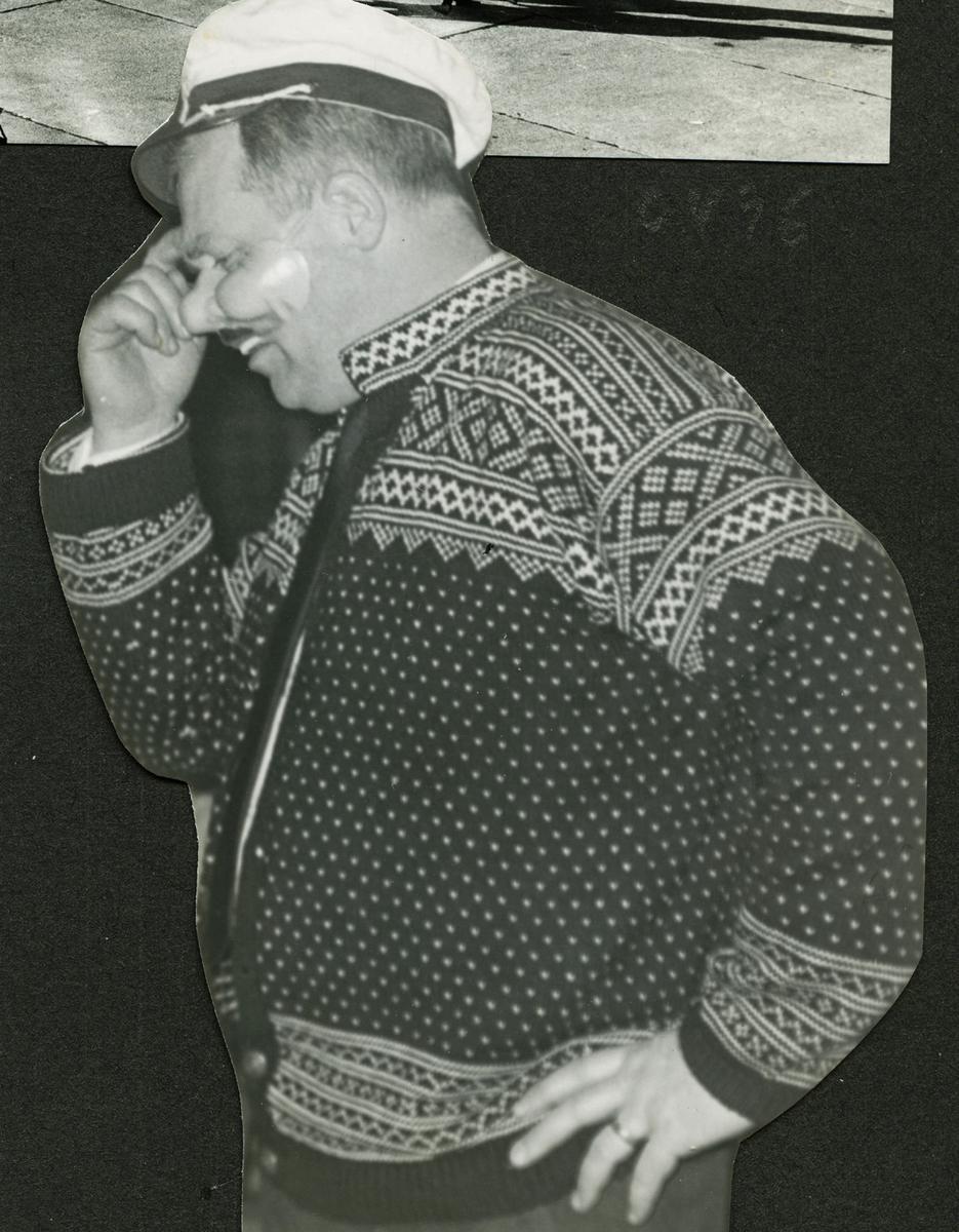 Polaris AS - Engelsk salgskonferanse 1966, D Vea underholder
