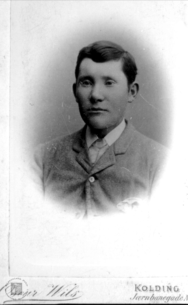 Portrett av Ole Chr. Hønneland, Laudal.
