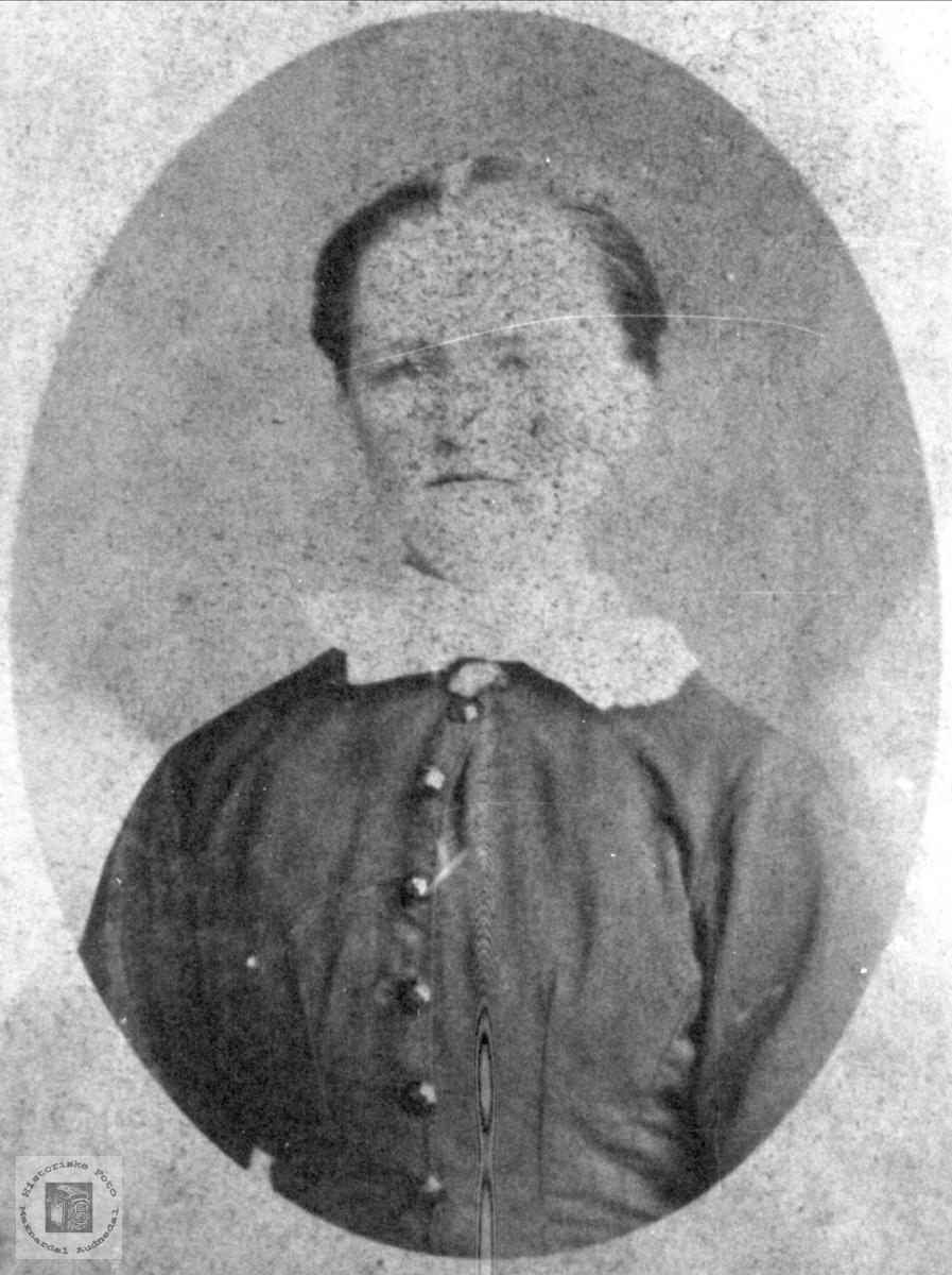 Portrett Todne Bentsdtr. Øyslebø