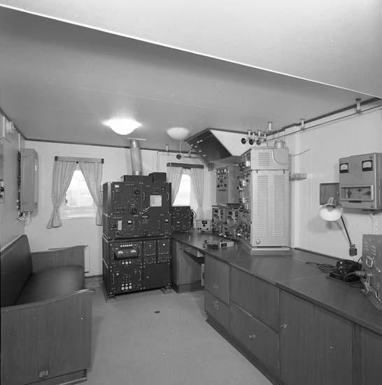 Bild från telegrafistens? hytt på fartyg 116-119, troligen från 116 S/S Vorkuta PT 57.