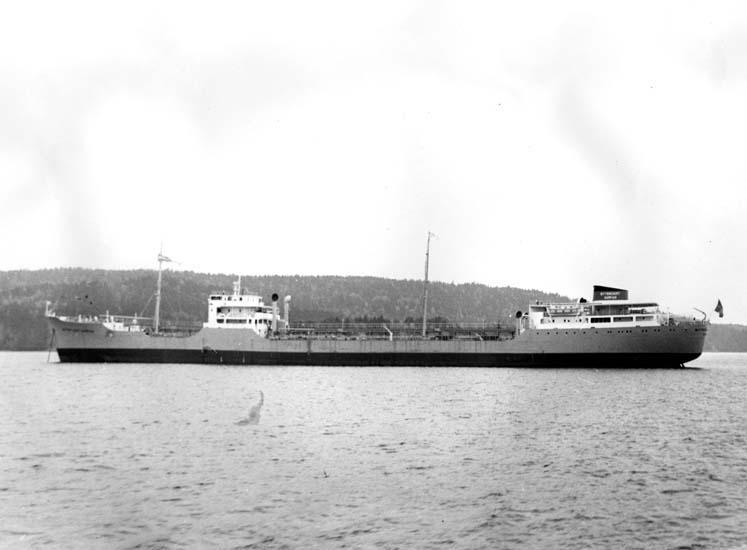Fartyg 120 M/T Bittencourt Sampaio vid leverans.
