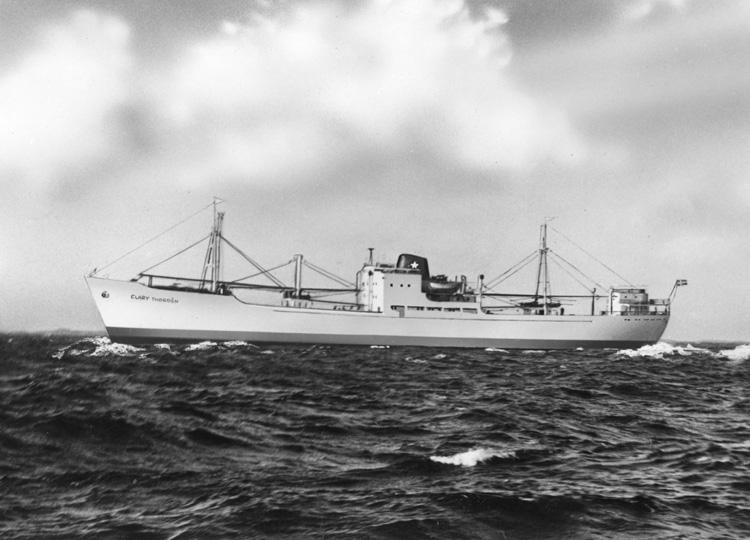Fartyget 138 M/S Clary Thordén.