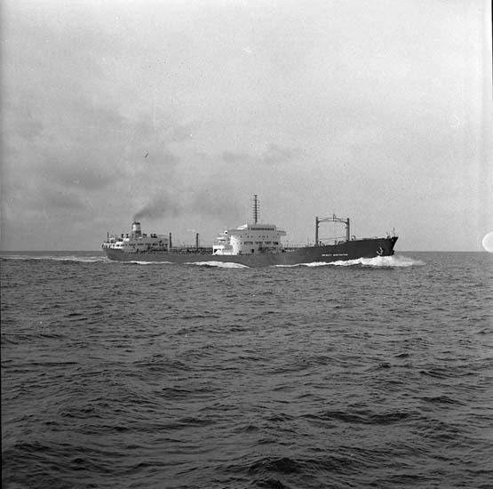M/T Hector Heron DWT. 18.830 Rederi Hector Whaling Ltd., London England Kölsträckning Lissabon Nr. 198 Leverans 59-05-09 Tankfartyg