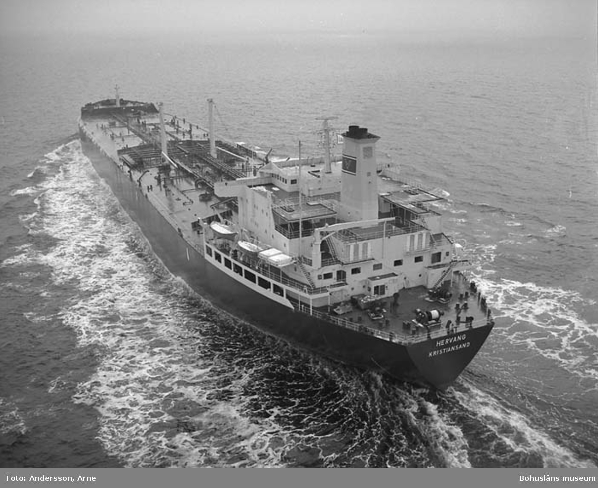 M/T Hervang DWT. 126.999 Rederi Vaboens Rederier Norge Kölsträckning 76-05-10 Nr. 293 Leverans 77-02-17 Tankfartyg