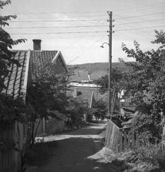 Pålsgatan Fjällbacka 1947