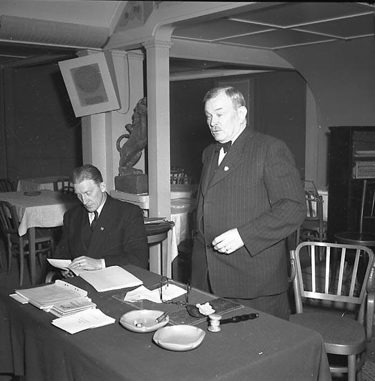 """Enligt notering: """"Bohusläns Idrottsförbund 2/3 1947""""."""
