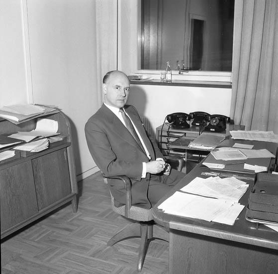 """Enligt notering: """"Disp. Jirdell. Swartsmans fredag 13-1-1956""""."""