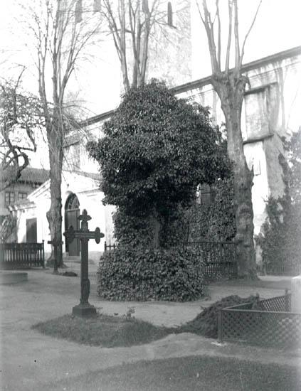 En del misslyckade foton. Swahnska graven.1928-30. 12 st. Ej Kopierade.