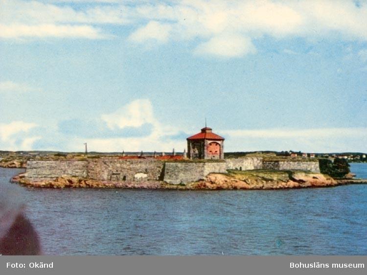 """Tryckt text på kortet: """"GÖTEBORG. Älvsborgs fästning"""". """"AB Jolin & Wilkenson""""."""