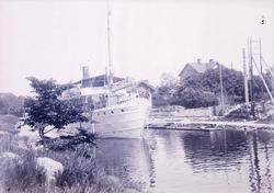 S/S Pallas i Trollhätte kanal, juni 1910
