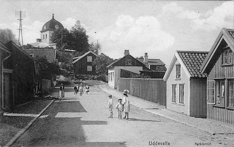 Bebyggelse längs Agnebergsgatan