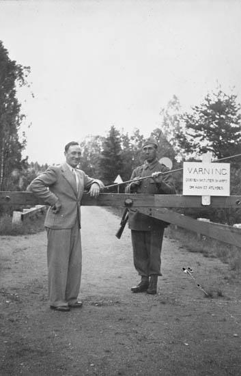 Gränsbevakning mot Norge under andra världskriget