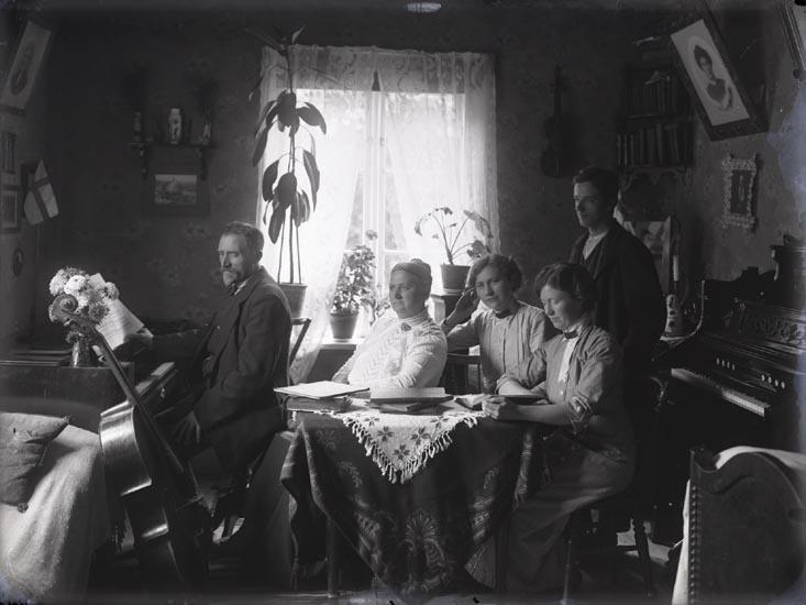 Familjegemenskap år 1925