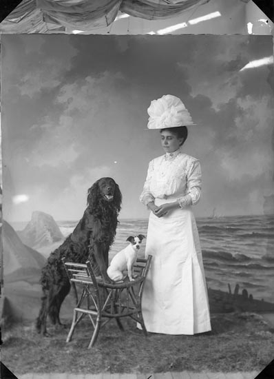 "Enligt fotografens journal nr 2 1909-1915: ""Stenborg, Fru Nanna Stureplatsen 1, G-bg""."