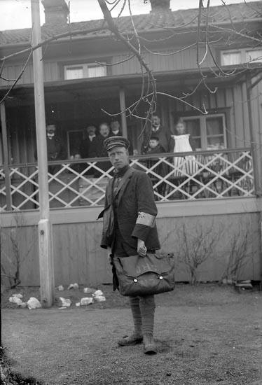 """Enligt fotografens journal nr 1 1904-1908: """"Carter, J. H. Wellington, New Zeeland""""."""