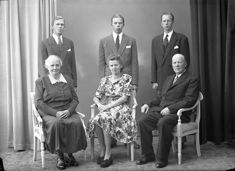 "Enligt fotografens journal nr 7 1944-1950: ""Andersson, Herr Erik, Vedkullen Här""."