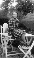 Margit Olsson (Olofsson), Ödsby 1927