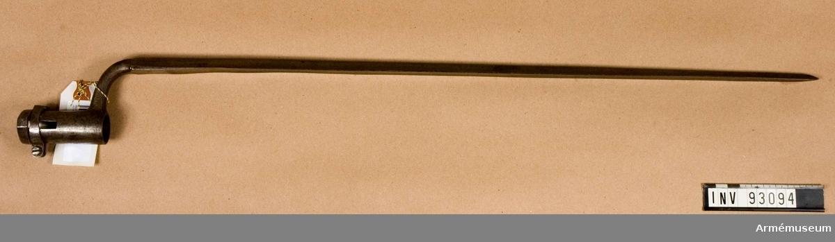 Bajonett m/1854