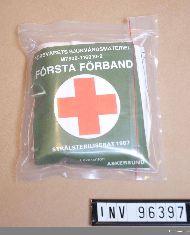 Försvarets sjukvårdsmateriel.