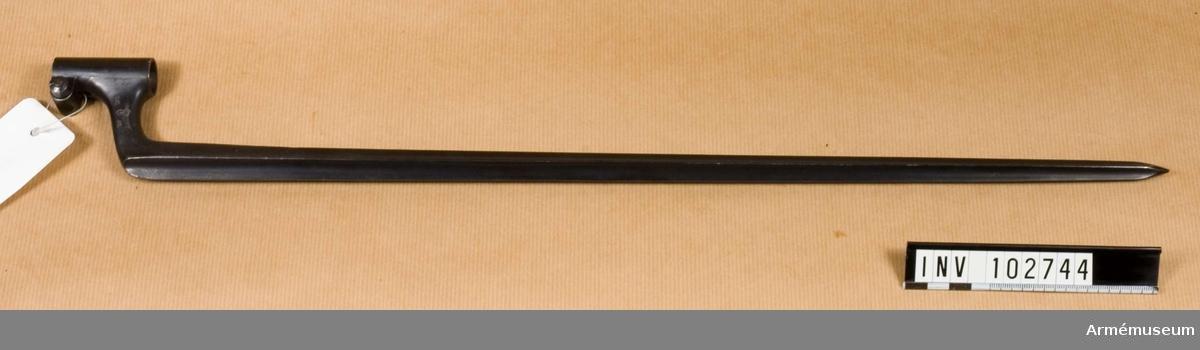 Bajonett m/1867-89