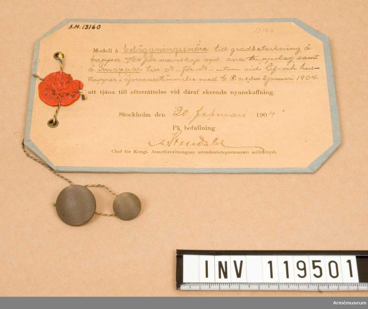 Knappar m/1904