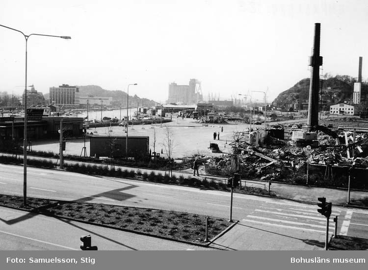 Kampenhofområdet efter rivning 1982