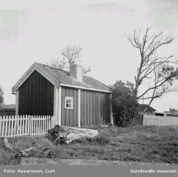 Prästkammaren byggd ca 1820. Brämön.
