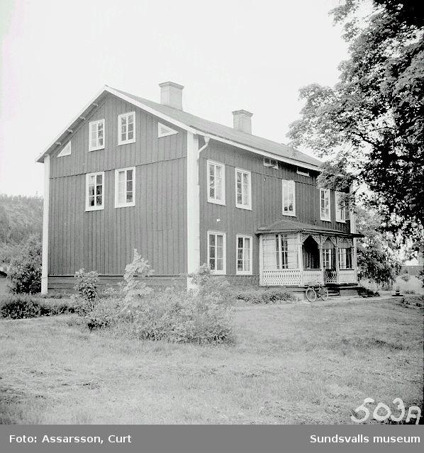 Widegården vid Västra vägen.