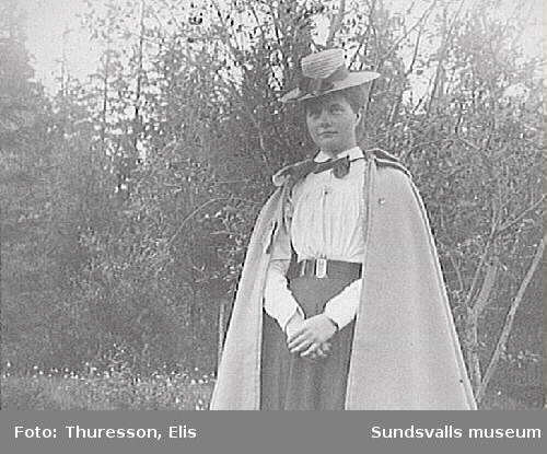 Elsa Andersson, gift  med Axel Thuresson 1905.