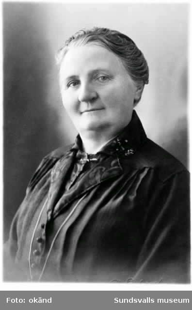 Doktorinnan Ragnhild Elfström, tidigare ägare till restaurang Skeppsbrokällaren.