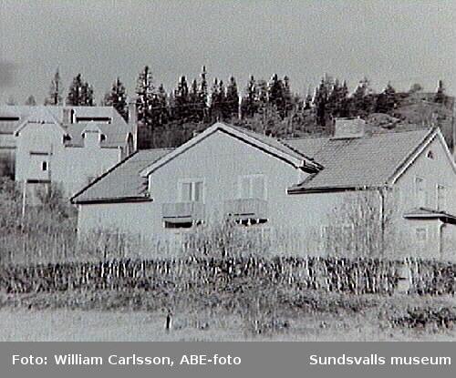 Skön, befintlig bebyggelse hösten 1967. Medborgargatan.