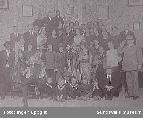 """Från IOGT-logen Tunaborg i Matfors. Text: """"Anna Svensson 2 maj 1926."""