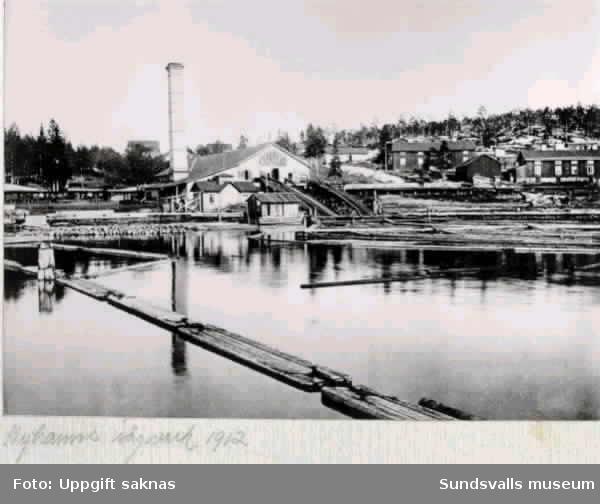 Nyhamns sågverk 1912.