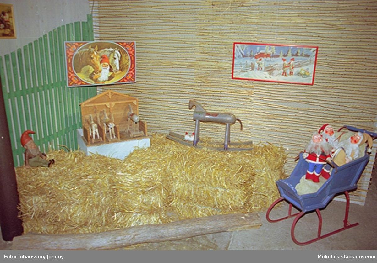 Miljö i utställningen på Mölndals museum 2002-12-15.