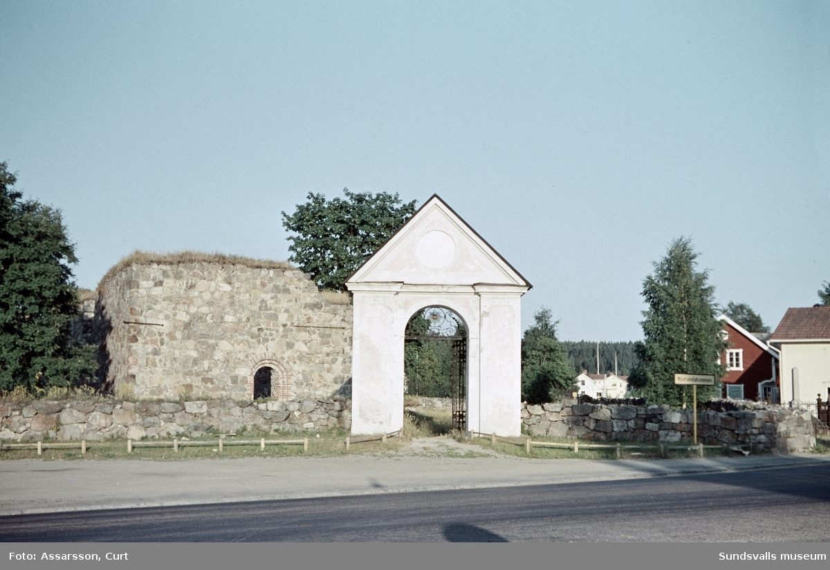 Kyrkoruinen i Bommen, Njurunda.