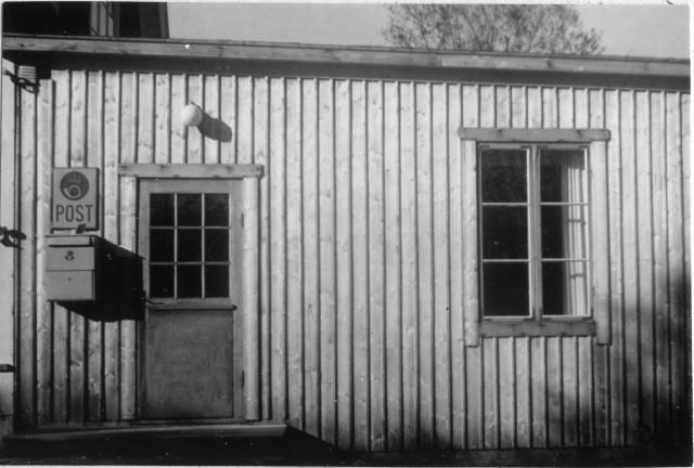 Alnö poststation, exteriör. Sundsvalls postområde.